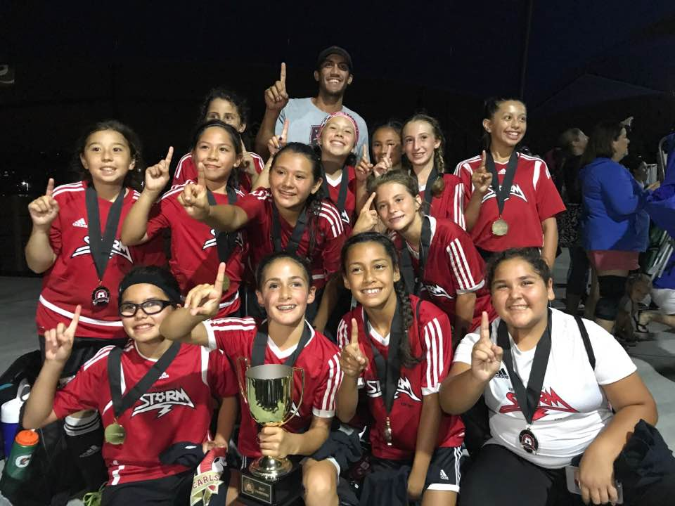 2006 Girls Win Carlsbad Cup